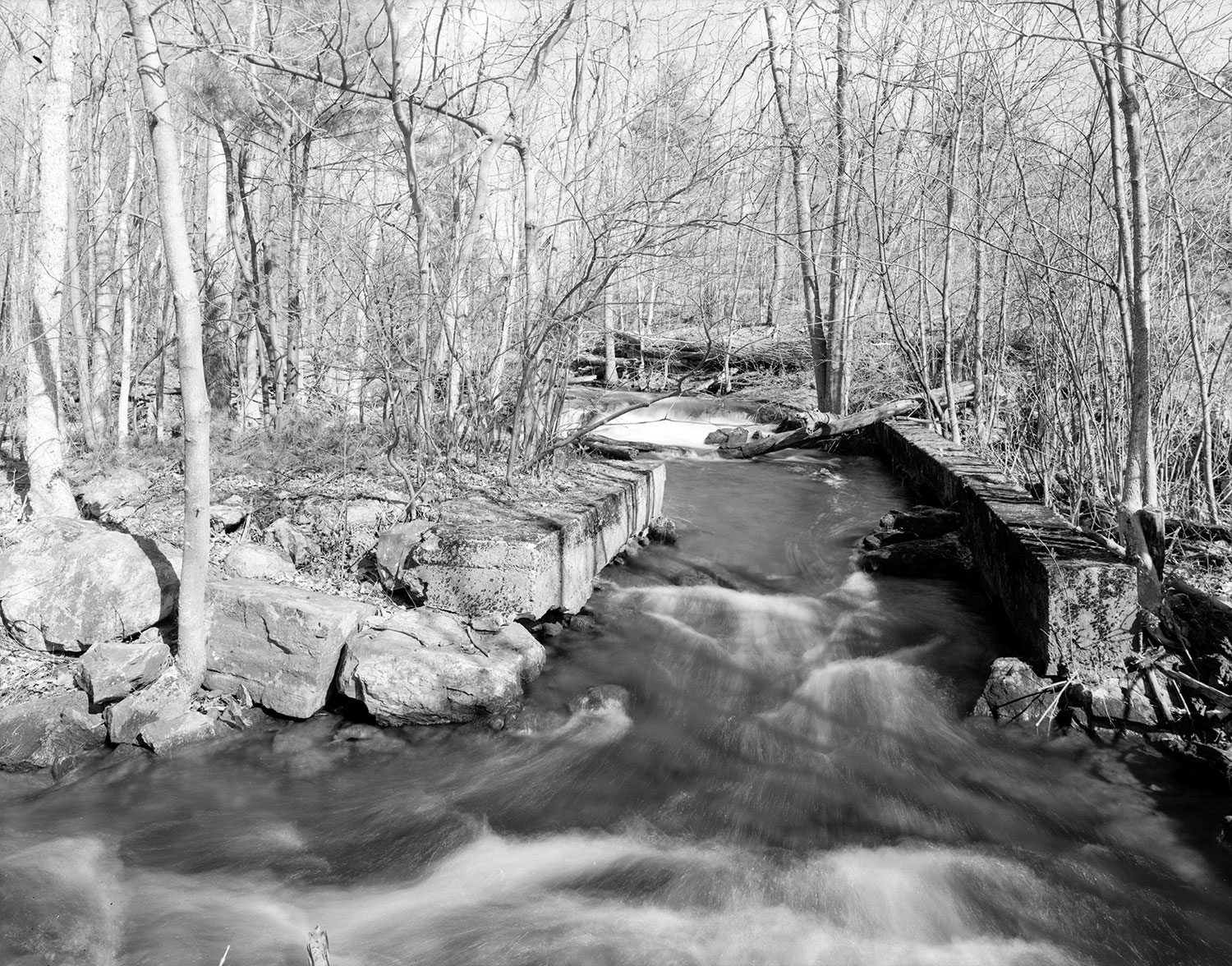 Early 19th Century Up and Down Sawmill » Halfway Brook
