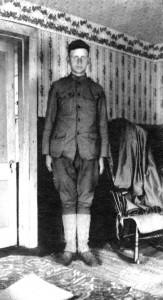 McKinley at his aunt Aida Austin's house.