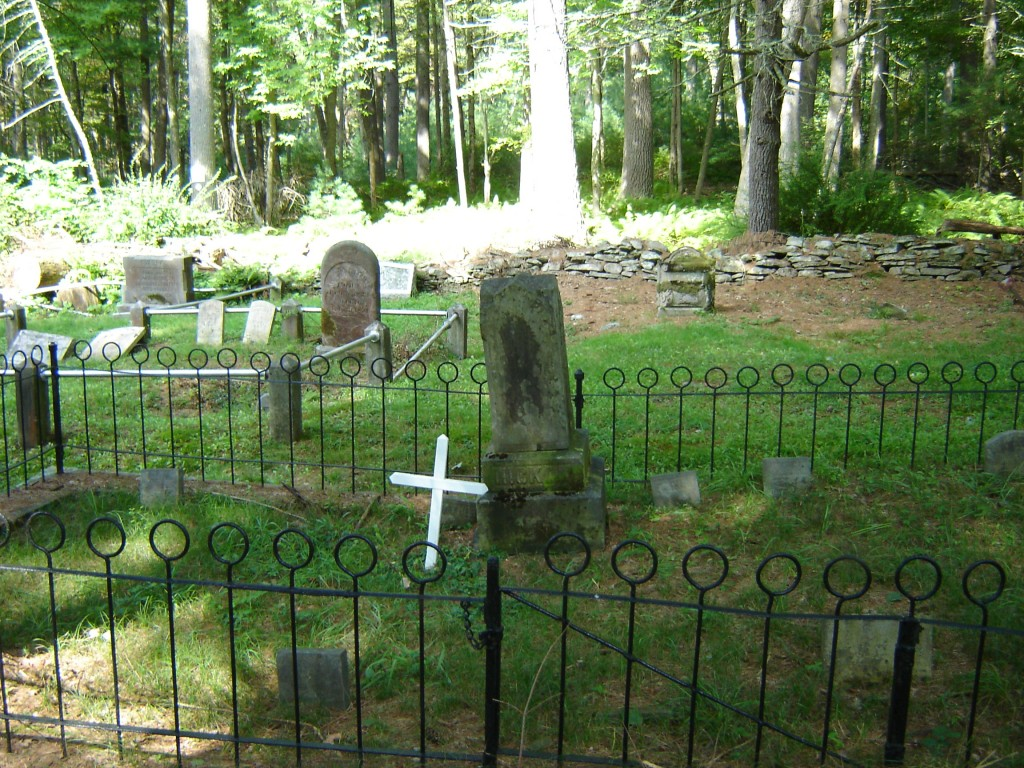 Hickok Grave in the Eldred Cemetery. Photo courtesy of CLB.