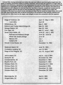 Civil War Battles Sherman fought in.