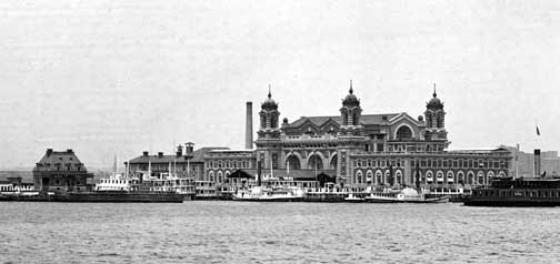 Ellis Island opens January 1, 1892 » Halfway Brook