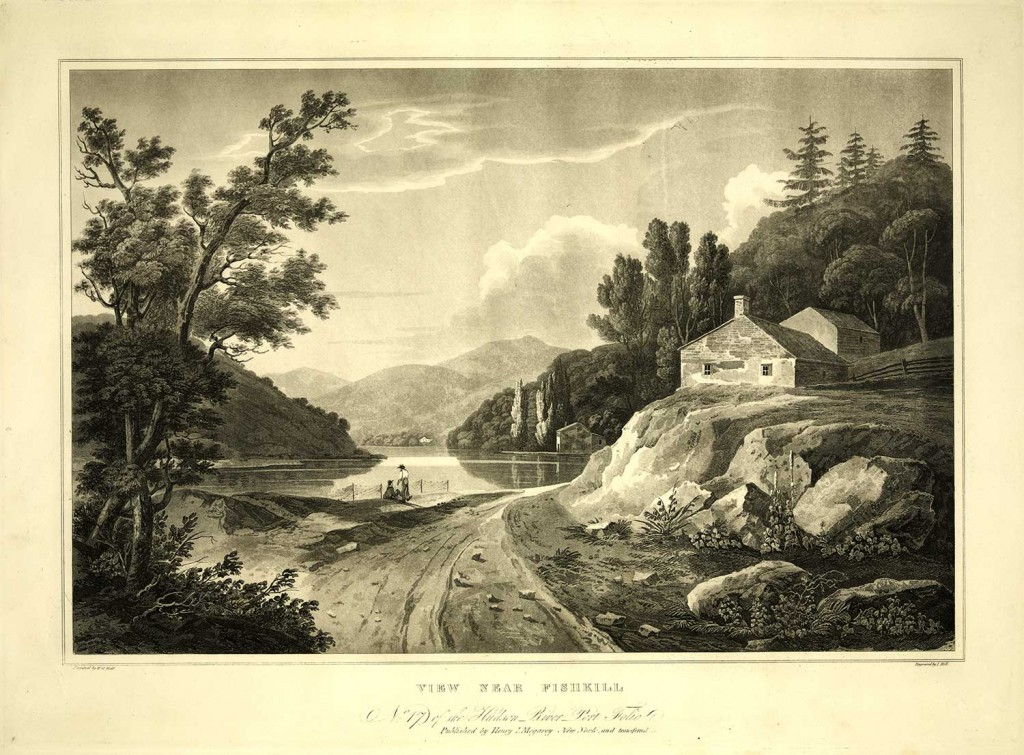 Near Fishkill, New York. No. 17 of the Hudson River Port Folio published by Henry I. Megarey, New York. Engraved by J. Mill. Painted by W.G. Wall.
