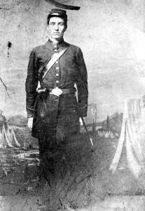 Sherman Stiles Leavenworth in the Civil War. Photo courtesy of Cynthia.